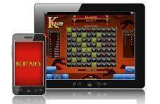 Enjoy Keno on your mobile