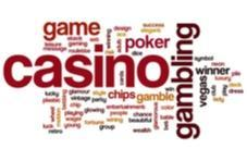 an image of lots of words relating to casino gambling