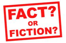 Fact or Fiction?  in big red letters