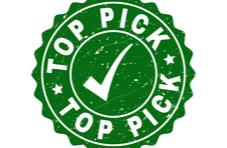 a green stamp showing Top Pick indicating how to choose the best online casino for you