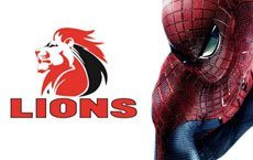 Super Rugby Spiderman