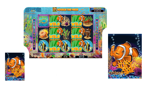 Megaquarium Slot is coming to Springbok Casino