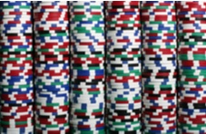 an image covered with piles of casino chips