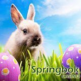 Easter Bonuses include Free Spins This Weekend at South Africa's Springbok Casino