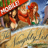 The Naughty List Slot at Springbok Mobile Casino