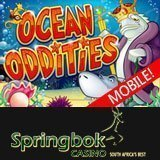 Get Free Spins and Up to R1500 Bonus When You Try the New 'Ocean Oddities' Mobile Slot Game at Springbok Casino