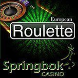 European Rouletts Now Available at South Africa's Springbok Casino -- Online and Mobile Casino
