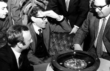 The story of Dr. Richard Jarecki's win at the roulette table still fascinates