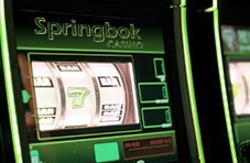 an online slot game at Springbok Casino