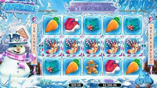 Snowmania Slot is coming to Springbok Casino