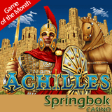 Up to 2500 Rands Casino Bonus to Try 'Achilles' Slot Now Also in Mobile Casino at Springbok
