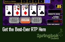 Find the games with the best RTPs and in-game bonus features - win the big bucks at Springbok Kiwi online casino!