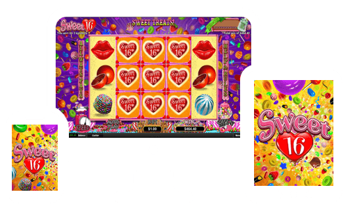 Sweet 16 Slot is coming to Springbok Casino