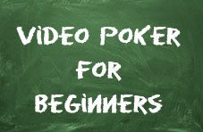 video poker for beginners