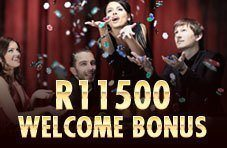 3 deposits, 3 bonuses - Up to R11 500